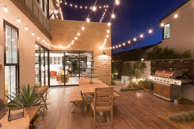 pardee designed homes specifically for millennials contemporary farmhouse outside entertaining