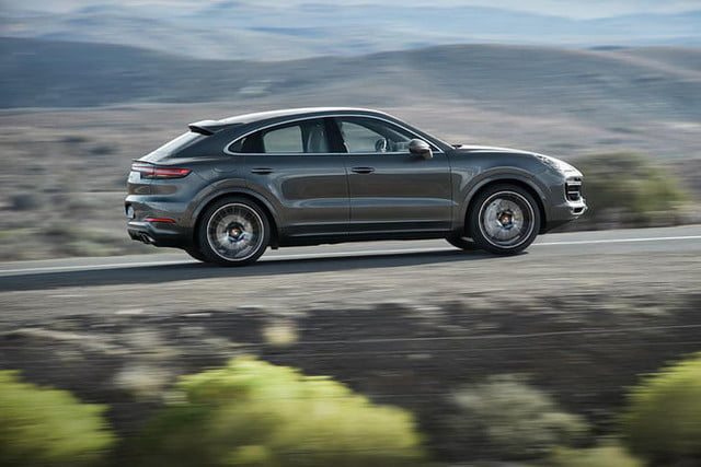the 2020 porsche cayenne coupe is all about style 8