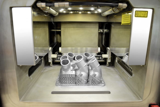 Daimler 3D-printed truck parts
