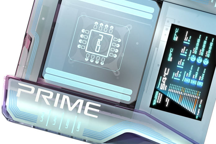 your atx motherboard is ancient the modular asus prime utopia future feature
