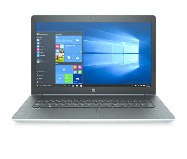 hp probook 400 g5 news 470 frontopen natural silver win10