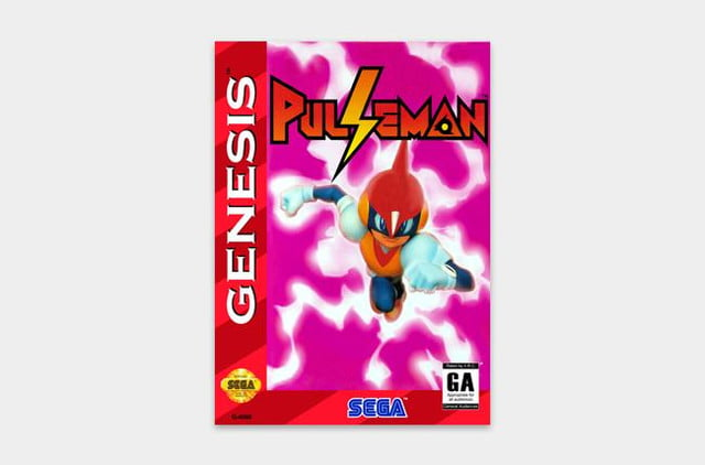 best sega genesis games pulseman cover