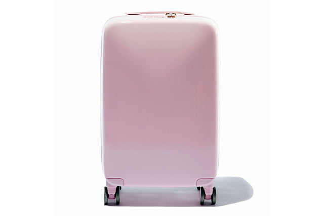 raden smart luggage a22 carry hero light pink gloss 1