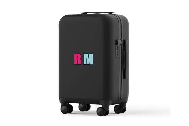 rebecca minkoff always on luggage stickers rm