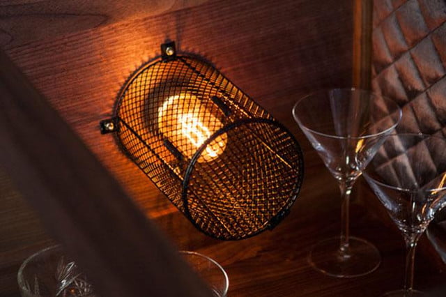 Rockstar whiskey bar Light detail buster and punch