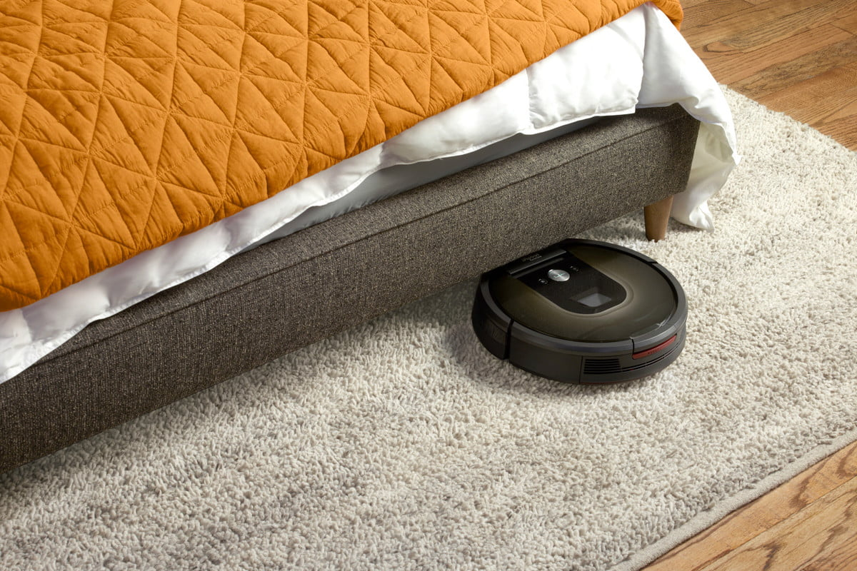 how we test vacuum cleaners roomba 980 bed
