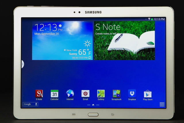 Samsung Galaxy Note 10 1 front home
