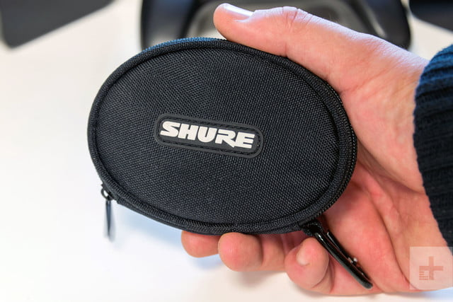 Shure SE215 BT earbuds review case