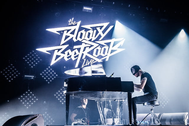 The Bloody Beetroots Sir Bob Cornelius Rifo piano