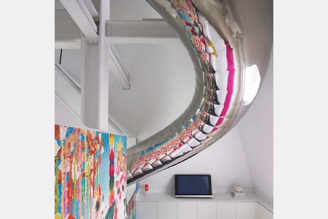 houses with amazing indoor slides skyhouse 010