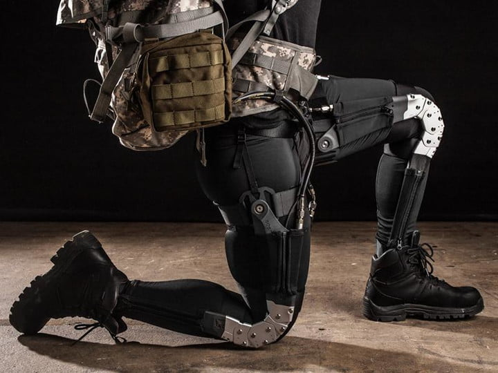 darpa invests super light exoskeleton soldiers soft exosuit