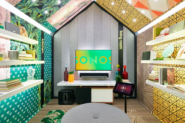 sonos retail store nyc sound listening room 5  mark chamberlain wallpaper