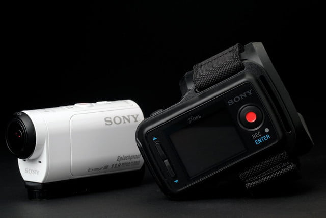 Sony Action Mini Cam camera side