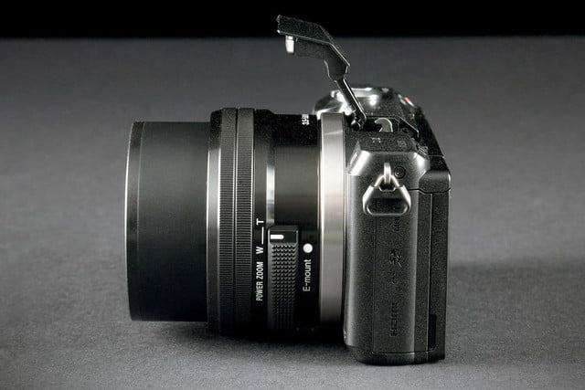 Sony Alpha A5000 right side