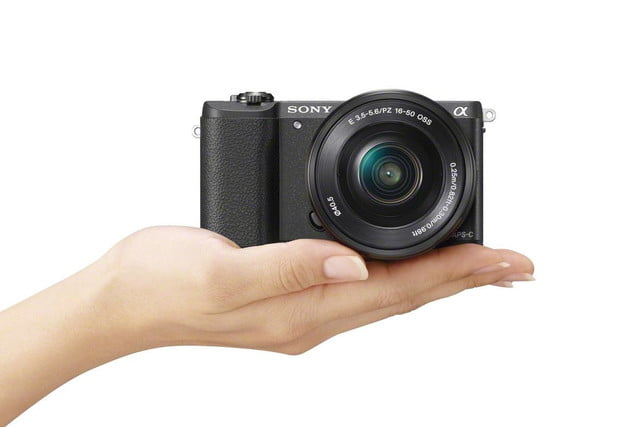 sony alpha 5100 ilce wselp1650 hand black