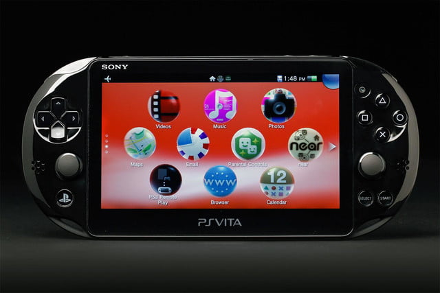 Sony PlayStation Vita Slim review front screen home