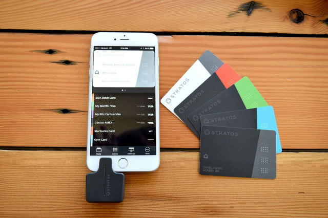 stratos smart credit card review iphone