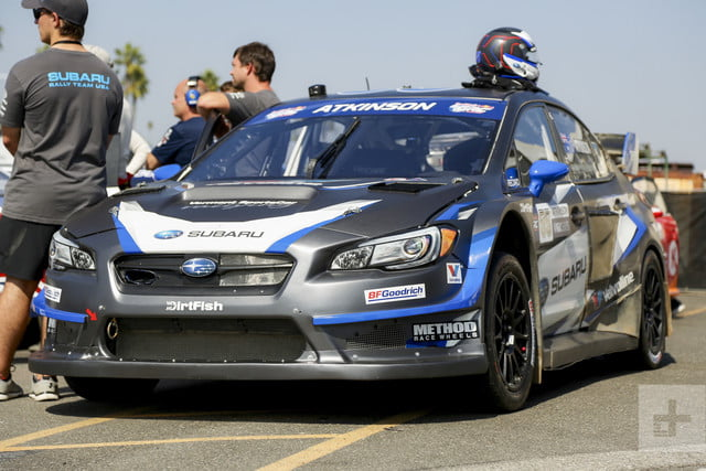 riding in subarus grc race car srtusa interview subaru  s ride along 099