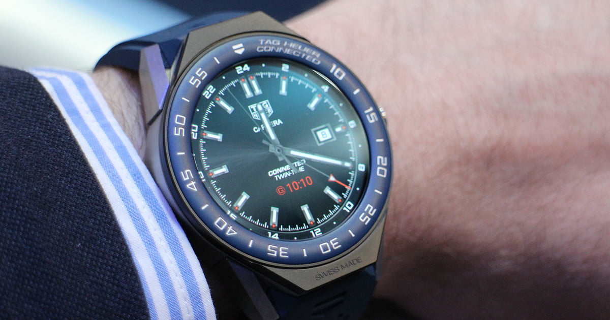 Tag Heuer Connected Modular 45 First Impressions Review ...