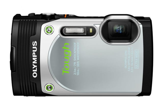 olympus debuts new stylus tg 850 tough camera slv front