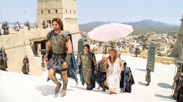 best rotten movies troy  2004