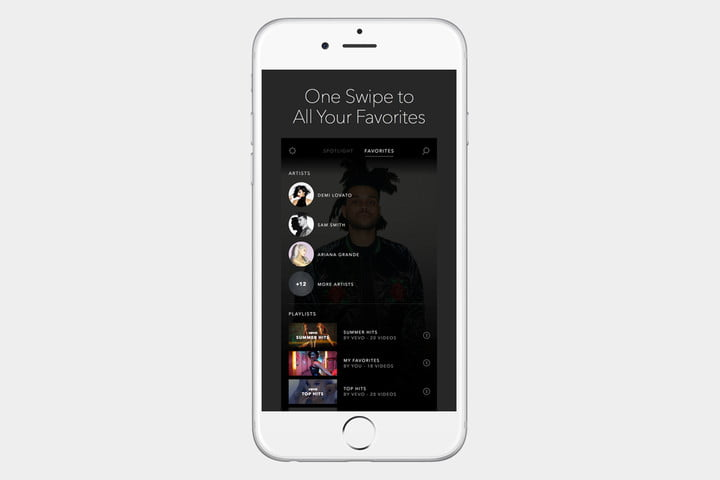 Vevo Screen App