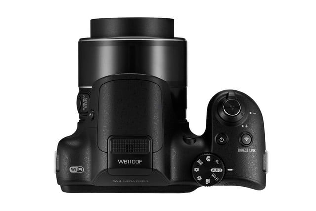 samsung ces 2014 point and shoot cameras wb1100f 004 top black