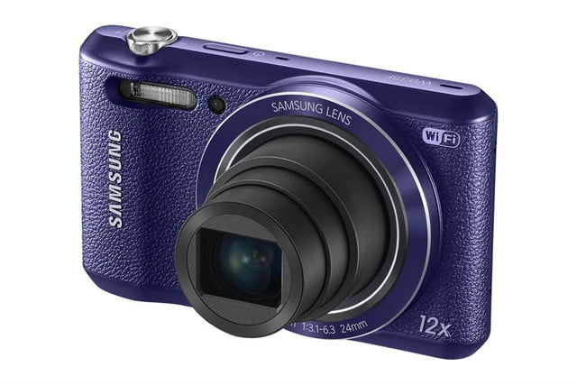 samsung ces 2014 point and shoot cameras wb35f 004 right angle purple