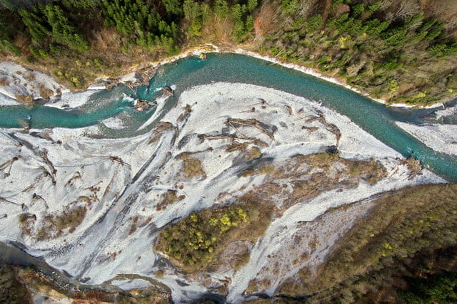 best drone photos white river