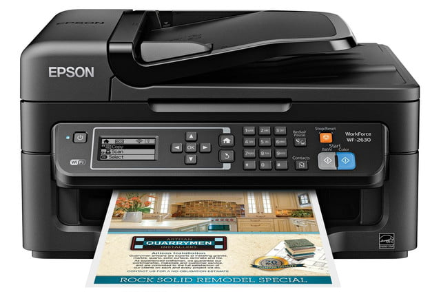epson lowers price precisioncore inkjet tech new multifunction units workforce wf 2630