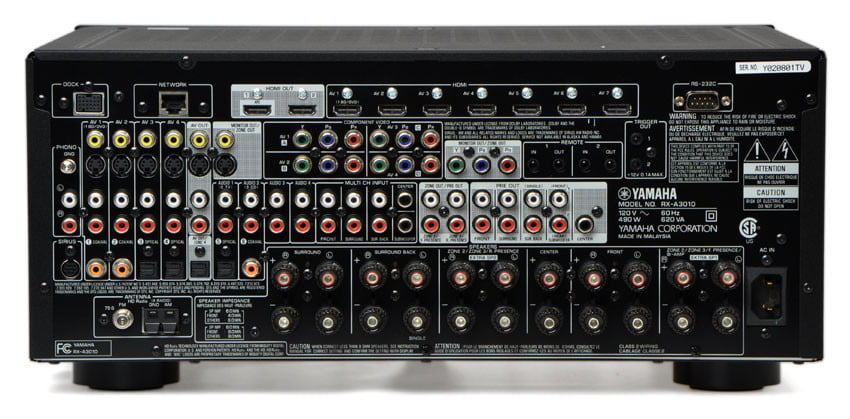 Yamaha Rx A3010 Review Digital Trends