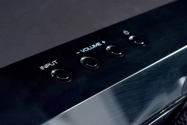 Yamaha YSP1400 volume controls