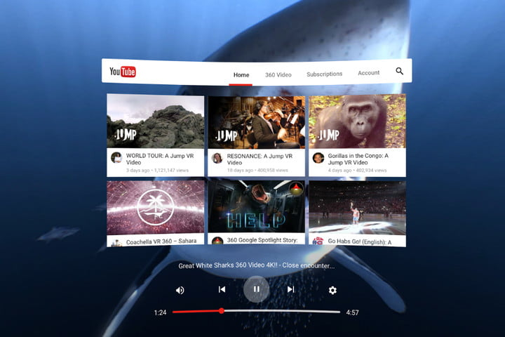 YouTube VR gets bolder with the Gear headset and communal experiences