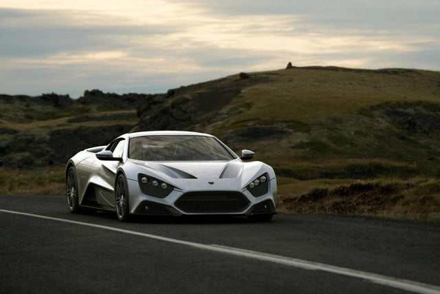 zenvo st1 might tried set top gear fire still awesome 6